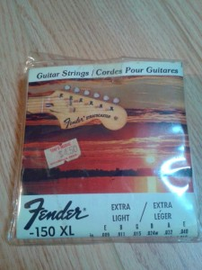 Fender strings