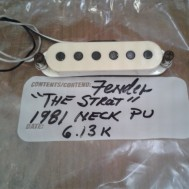 1981 Fender Stratocaster pickup/neck